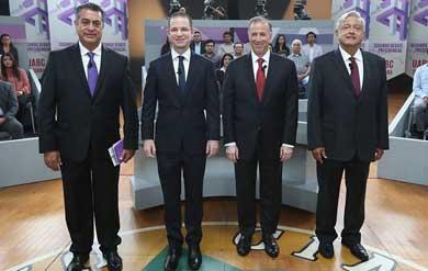 Así fue el tercer debate presidencial