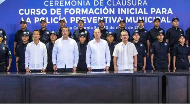 Contará los cabos con 31 nuevos policías