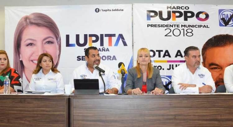 Se suman al PAN militantes de Morena y PRI