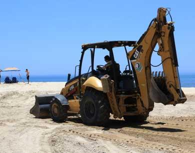 Rehabilita Zofemat playas del municipio