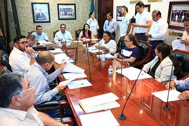 Autorizan integrar la comisión mixta para vigilancia del proceso entrega-recepción