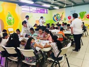 arranque del primer curso de Verano 2018 promovido por la Comisión Estatal de Derechos Humanos para niños y niñas que conforman las Comisiones Infantiles de Derechos Humanos de las distintas escuelas primarias de la ciudad de La Paz