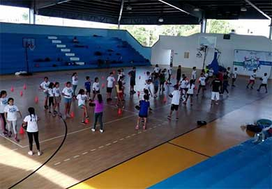 Gran participación en los cursos de verano