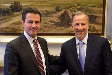 Platica Peña Nieto con Meade