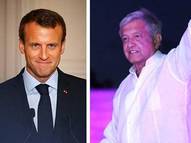 Macron habla con AMLO