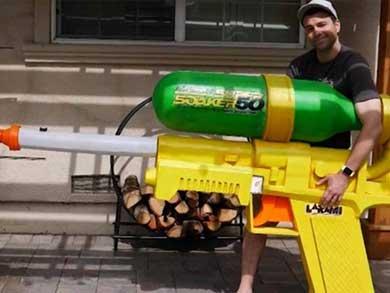 Esta pistola no la tiene ni Obama
