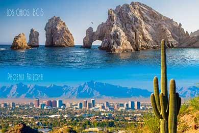 Busca Gobierno de Los Cabos hermanamiento con Phoenix Arizona
