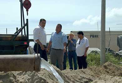 Termina OOMSAPAS LC mantenimiento del pozo de la Ribera