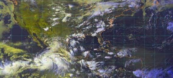 """El huracán """"John"""" adquirirá la tarde de este martes la categoría 3 en la escala Saffir-Simpson"""
