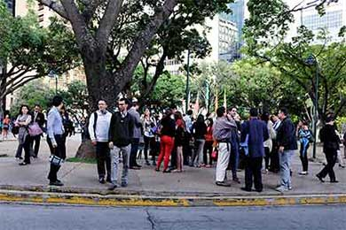 Tiembla en Venezuela