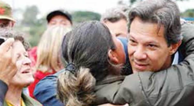 Descarta Fernando Haddad indulto para Lula