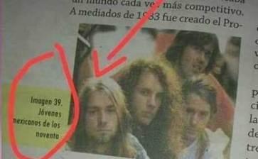 Nirvana y Cobain eran… ¡mexicanos!