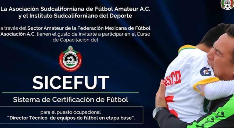 Convocan a curso – certificación CISEFUT Directores Técnicos