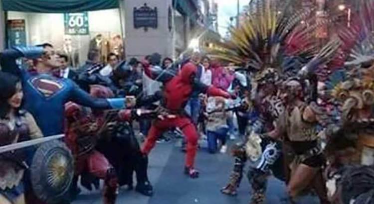 Superhéroes se enfrentan a dioses prehispánicos