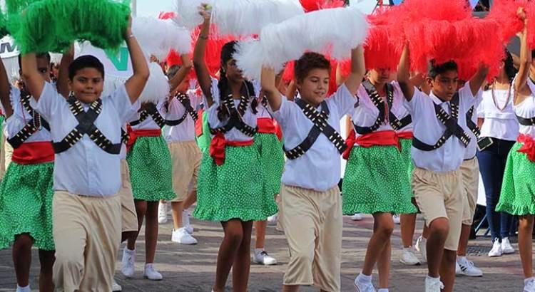 Conmemoraron el 108 Aniversario de la Revolución Mexicana