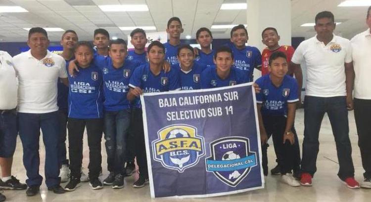Viajan futbolistas de BCS al Nacional Sub 14