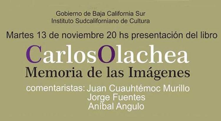 Presentación editorial en la Carlos Olachea