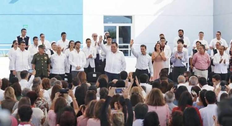 Inauguran el nuevo Centro Estatal Oncológico