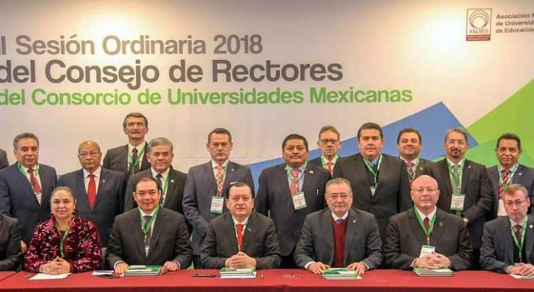 Participa Rector de la UABCS en sesión del Consorcio de Universidades Mexicanas