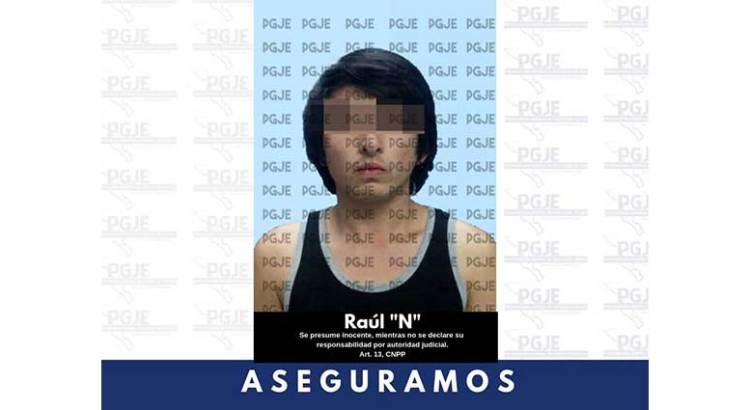Tenía Raúl 800 dosis de droga en su casa