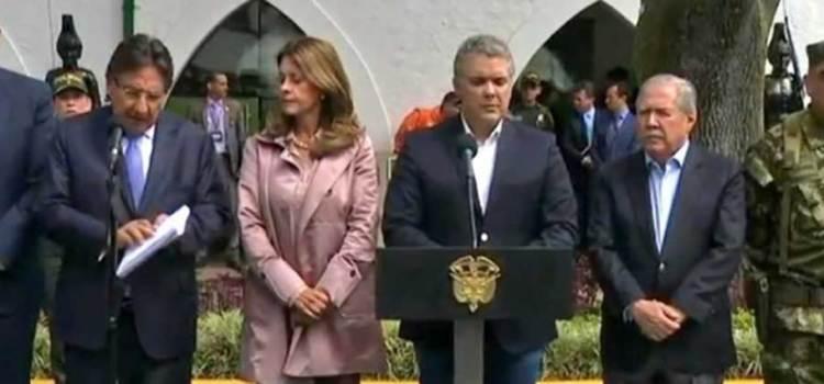 Identifican al autor de atentado en Bogotá