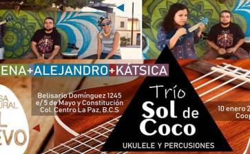 Pasa una noche de ukulele y percusiones