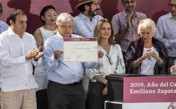 Declaran 2019 Año Oficial de Emiliano Zapata