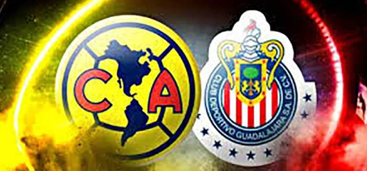 Confirmadas las alineaciones para el clásico América-Guadalajara