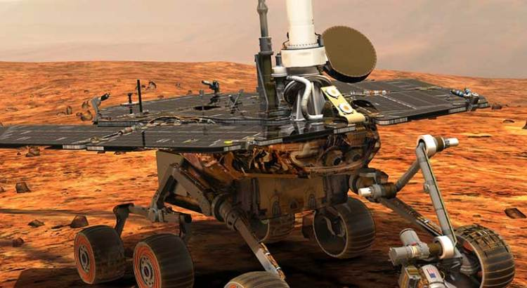 """""""Opportunity"""", el astromóvil que vivió por 14 años en Marte"""