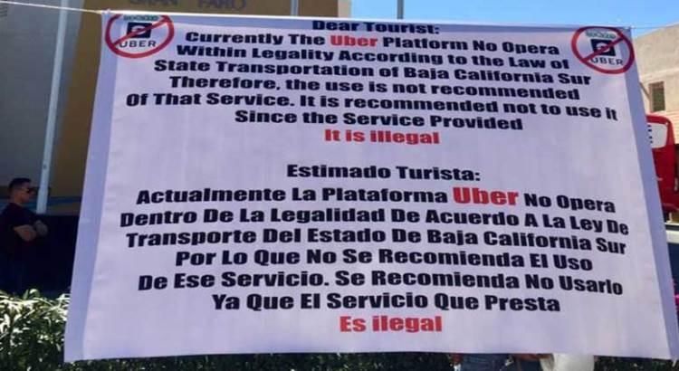 Se manifestaron taxistas en SJC