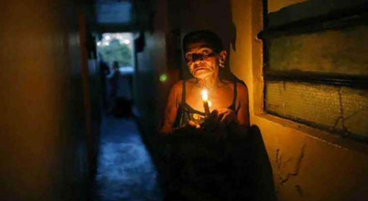 Nuevamente, Caracas sin energía eléctrica