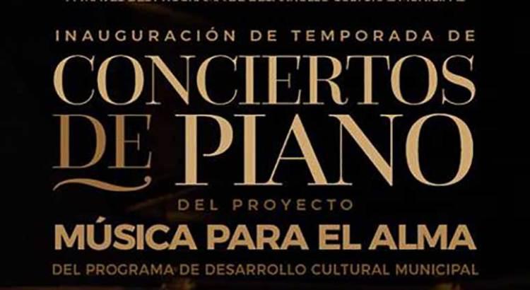 Inicia la temporada de conciertos de piano