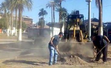 Continúan los trabajos de limpieza en Mulegé
