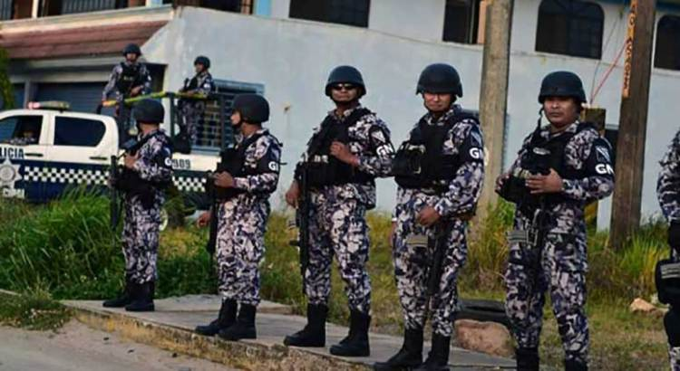 En días, la Ley de Guardia Nacional con mando civil