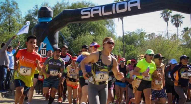 Gran participación en el trail run y carrera MTB en San Antonio