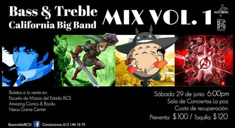 """No puedes perderte el """"Bass & Treble Mix Vol. 1"""""""