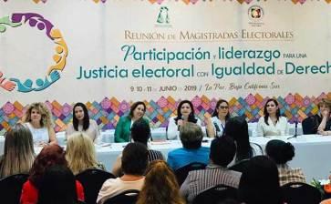 La Paz, sede de Reunión de Magistradas Electorales