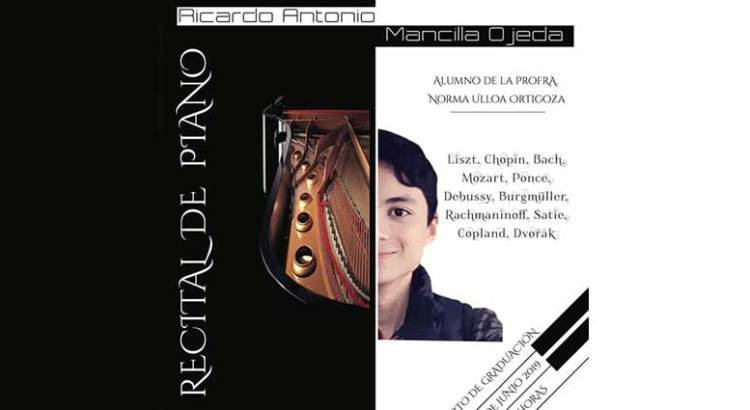 Invitan a recital de piano