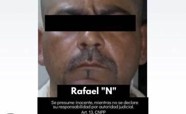 Casi mil dosis de cristal traía Rafael