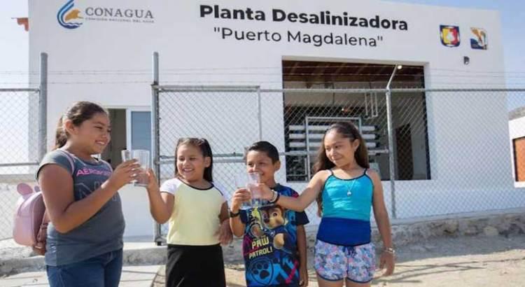 Inaugura Gobierno del Estado planta desalinizadora en Bahía Magdalena