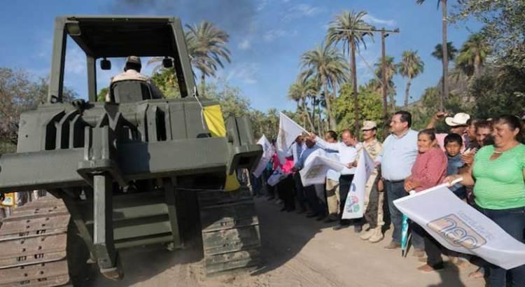 Serán rehabilitados más de 400 kilómetros de caminos rurales en Comondú
