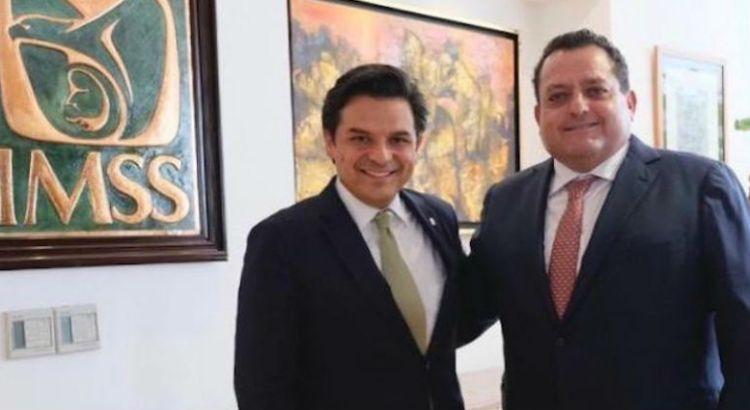 Se reunió  Gobernador con Director General del IMSS