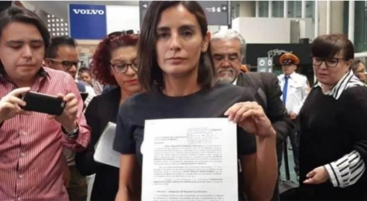 Levanta Paola Espinosa denuncia ante la FGR