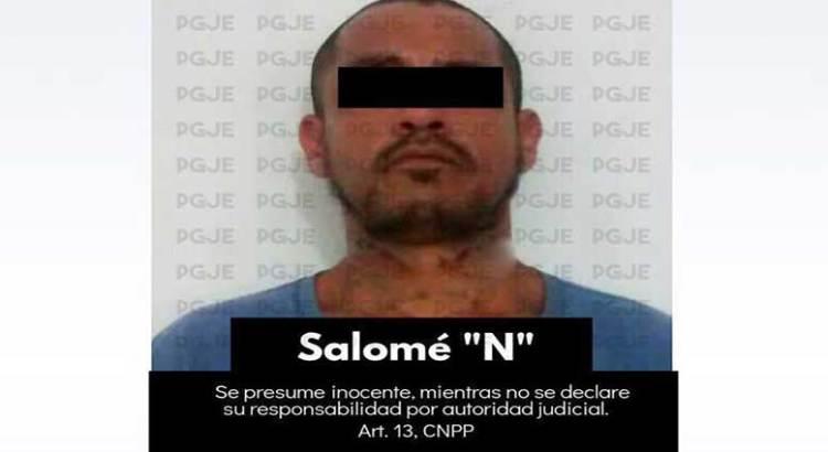 Tras las rejas Salomé acusado de corrupción de menores