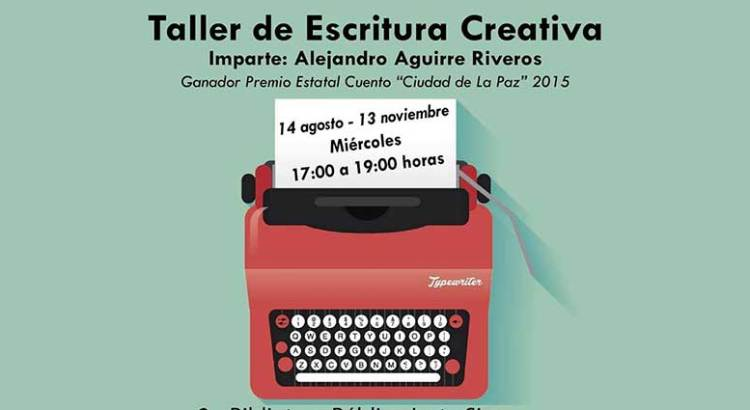 "Invitan al ""Taller de Escritura Creativa"""