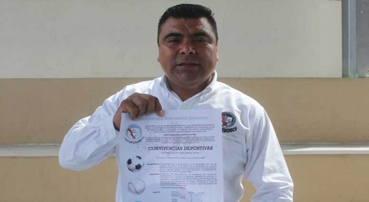 """Lanzan convocatoria para """"Juegos sindicales y deportivos"""""""