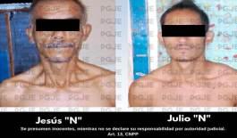 """Arrestaron con cristal a """"El Calero"""" y """"El Julio"""""""