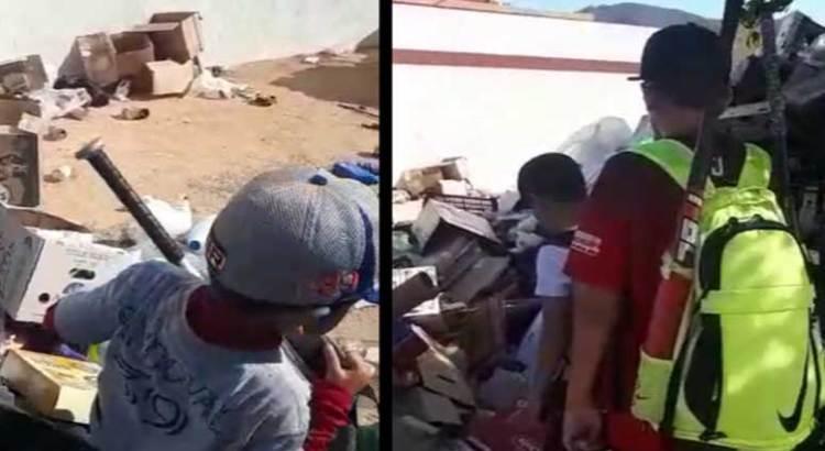 Convertido en un basurero el estadio de beisbol de CSL