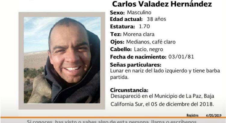 ¿Has visto a Carlos Valadez Hernández?