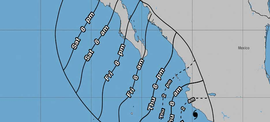 Lorena ya es huracán categoría 1
